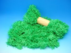 Tráva zelená kroucená