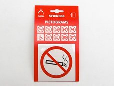 """Samolepka informační """"Zákaz kouření""""  641B"""