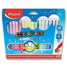 Maped Color´Peps - barevné fixy 18 barev