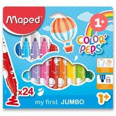 Maped Dětské fixy Color'Peps Jumbo - 24 barev