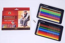 Akvarelové pastelky Koh-i-Noor  3711 24 ks