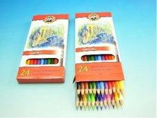 Pastelky akvarelové RYBY 3718/24