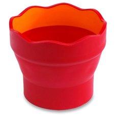 Kelímek na vodu Faber-Castell Clic&Go - malinový