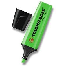 Zvýrazňovač STABILO Boss Original, zelená