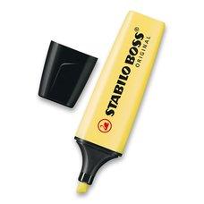 Stabilo Zvýrazňovač Boss Original Pastel žlutý