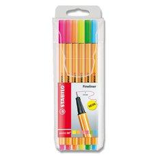 Stabilo Liner Point 88 - sada 6 neonových barev