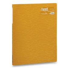 FolderMate Katalogová kniha Nest - A4, 20 folií, zlatožlutá