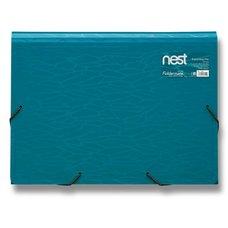 FolderMate Aktovka na spisy Nest - 330 x 240 x 35 mm, modrá