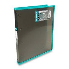FolderMate 4kroužkový pořadač Pop Gear Plus - A4, kouřový
