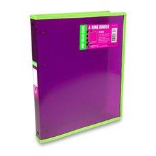FolderMate 4kroužkový pořadač Pop Gear Plus - A4, červený