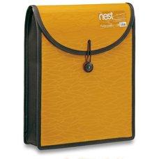 FolderMate Aktovka na dokumenty Nest - A4, zlatožlutá