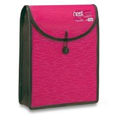 FolderMate Aktovka na dokumenty Nest - A4, růžová