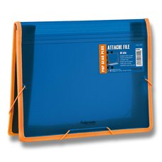 FolderMate Aktovka na dokumenty Pop Gear Plus - A4, modrá