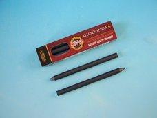 Tuhy 2B průměr 5,6 mm grafitové 80 mm délka