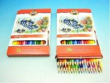 Pastelky akvarelové RYBY 3719/36