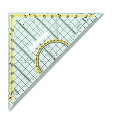 Trojúhelník  čirý s držadlem 703044 45/177