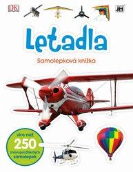Letadla Samolepková knížka