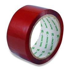 Barevná samolepicí páska Reas Pack - červená, 48 mm x 66 m