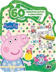 60 zábavných aktivit a omalovánek Peppa Pig