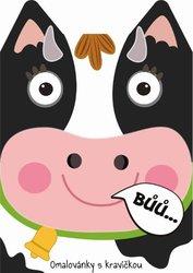 Kráva Omalovánky zvířátka