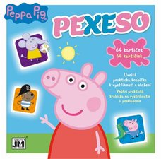 Jiří Models Pexeso v sešitu Peppa Pig