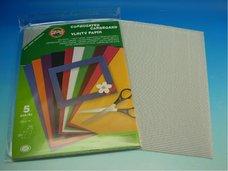 Vlnitý papír - stříbrný