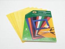 Vlnitý papír 9758 - pastelový žlutý