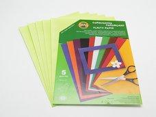 Vlnitý papír 9758 - pastelový zelený