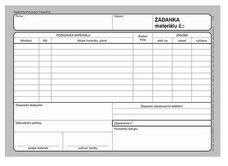 Asopol 031300 Žádanka materiálu A5