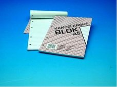 Blok linka A5 4-kroužkový