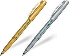 Značkovač Centropen 2670 zlatý, 1 kus, šíře stopy 1mm