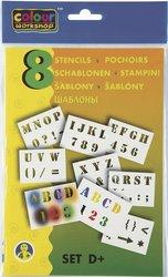 Centropen Šablony 9998 pro foukací fixy set D+