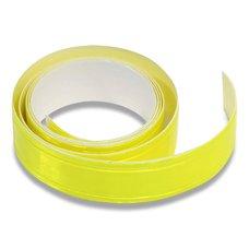Samolepicí reflexní páska - žlutá, 2 cm x 90 cm