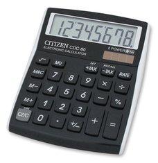 Stolní kalkulátor Citizen CDC-80 - černý