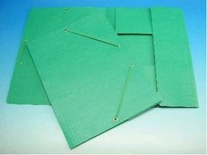 Deska A4 s gumou prešpán zelená