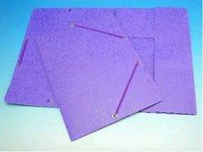 Deska A4 s gumou prešpán fialová