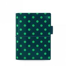 Filofax Domino Patent A7 Pocket tmavě zelený kapesní