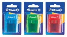 Pelikan Dvojité ořezávátko V-Blade mix barev