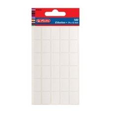Herlitz Etikety kancelářské bílé 19 x 12 mm
