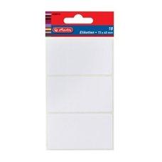 Herlitz Etikety kancelářské bílé 82 x 36 mm