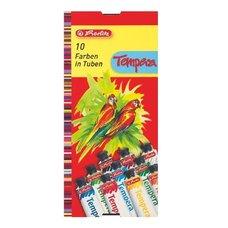 Tempery 10 barev - tuba 16ml