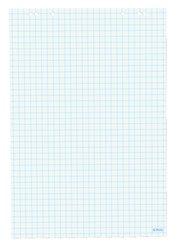 Herlitz Blok Flipchart 68 x 99/20 listů, čtvreček