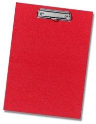 Herlitz Podložka s klipem A4 červená