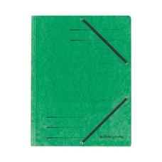 Herlitz Desky  s gumou A4 prešpánové zelené
