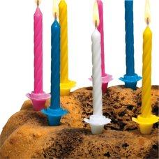 Herlitz Dortové narozeninové svíčky se stojánky