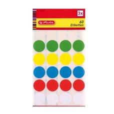 Herlitz Etikety značkovací body 5 barev 19 mm