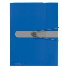 Herlitz Box na spisy  A4/4 cm - modrý