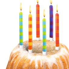 Herlitz 12ks nar.svíček se stojánkem