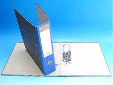 Pořadač A4 pákový 7,5cm mramor modrý