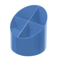Herlitz Stojánek kulatý Color Blocking modrý